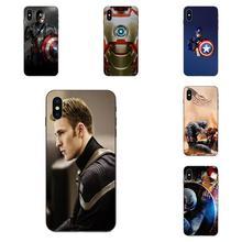 Super Hero Captain America Shield Marvel For Galaxy A10S A20S A2 Core A30S A40S A50S  A70S A90 5G M10 M30S M40 Note 10 Plus