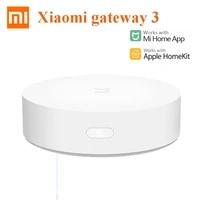 Xiaomi     passerelle Multimode Gateway 3  compatible ZigBee  WIFI  Bluetooth  protocole Mesh  pour maison intelligente  fonctionne avec lapplication Mijia et Apple Homekit