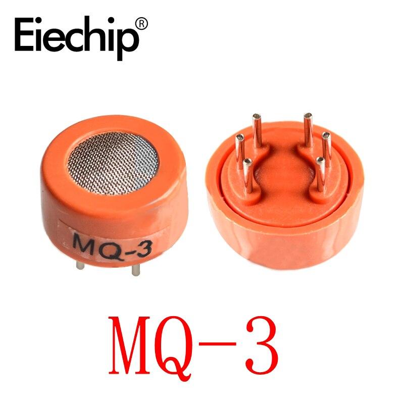 9 Uds MQ-2 MQ-3 MQ-4 MQ-5 MQ-6 MQ-135 de detección de humo metano Gas licuado sonda del Sensor para Arduino de DIY Kit