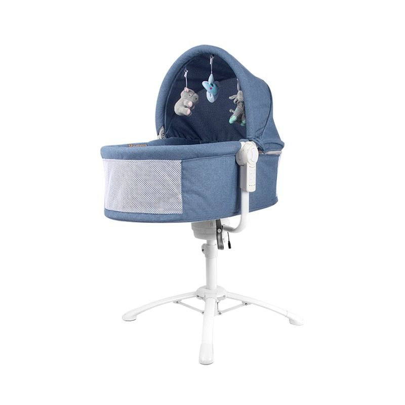 New product 3 in 1 electric crib baby can sit reclining rocking chair European style dining chair lifting cradle baby bed