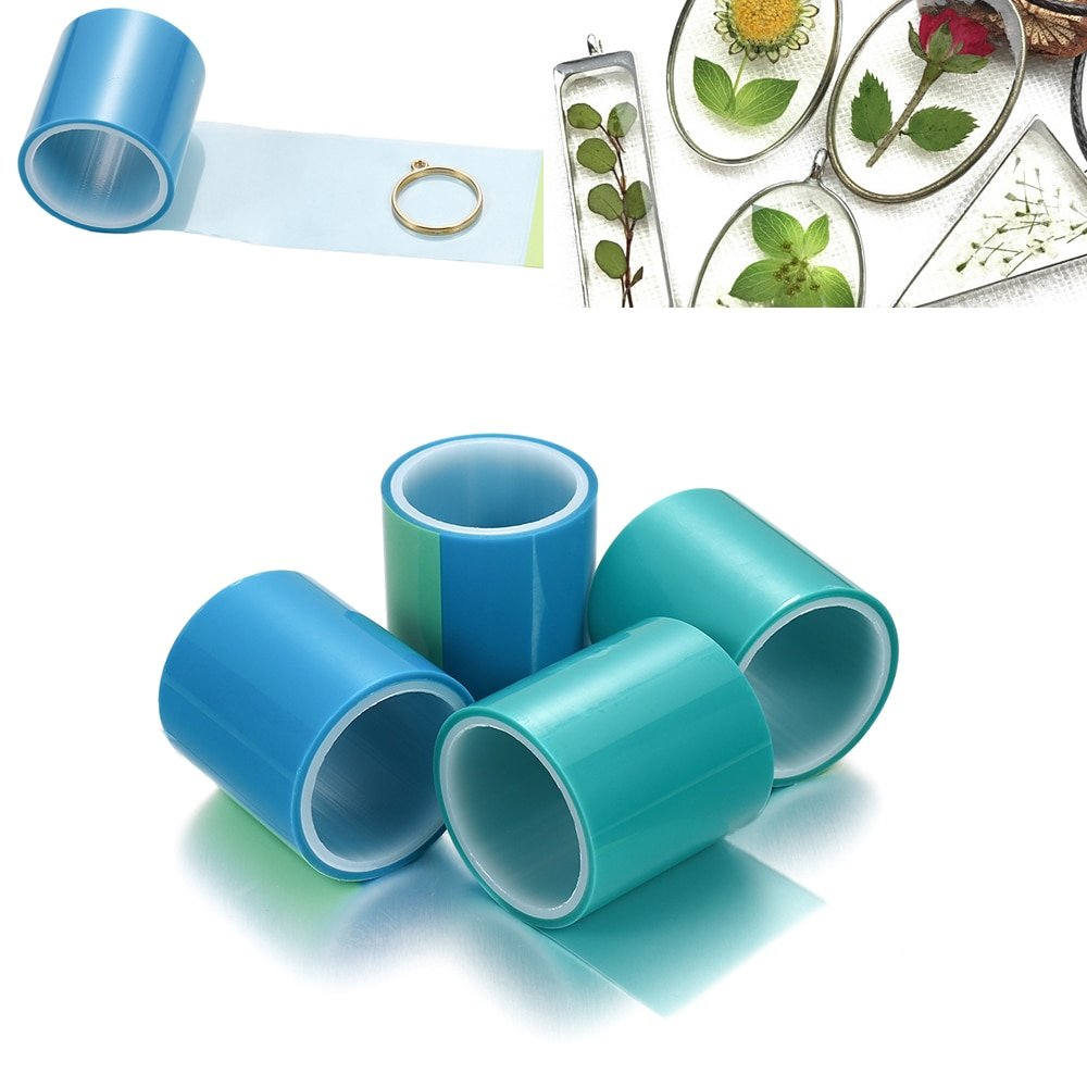 5m/roll Traceless Tape Seamless Paper Tape For DIY Hollow Open Metal Frame Bezel Setting UV Epoxy Resin Molds Jewelry Making