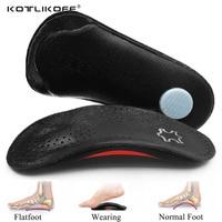 Кожаные ортопедические стельки KOTLIKOFF, коррекция плоскостопия, поддержка свода стопы, для мужчин и женщин