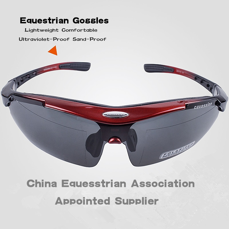 Equestrain Horse Ridding Anti-Ultraviolet Sand-Proof Lightweight and Comfortable Goggles