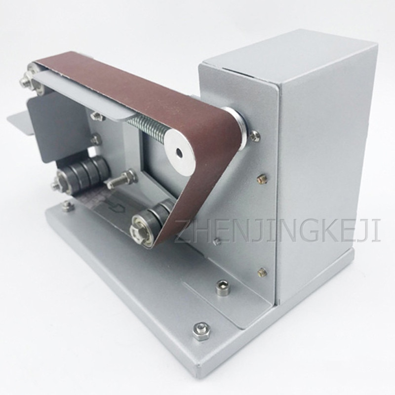 Abrasive Belt Machine Sander Belt Grinder DIY Polishing Machine Polisher Fixed Angle Sharpener Desktop Woodworking Equipment