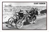 Affiche en soie imprimee dart de film classique Easy Rider  decor mural de maison 24x36 pouces