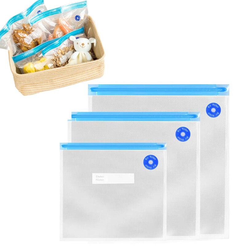 فراغ السدادة حقيبة الغذاء حقيبة التخزين تحفظ الطعام طازجًا ل صغيرة التلقائي ضغط مضخة تفريغ المنظم الفاكهة المطبخ أداة التوقف