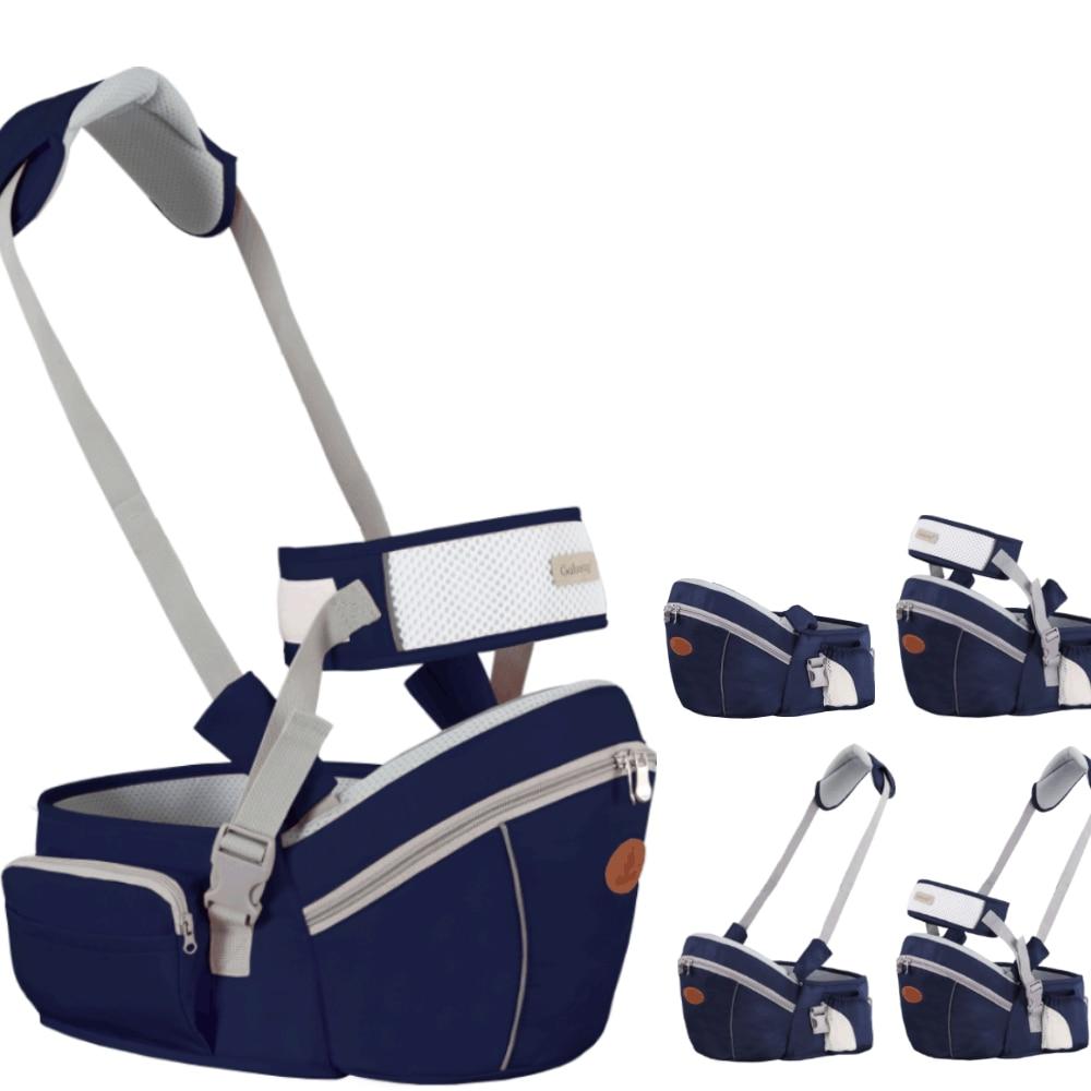 Baby Carrier Waist Stool Walkers Baby Sling Hold Waist Belt Backpack Hipseat Belt Kids Adjustable Infant Hip Seat Breathable