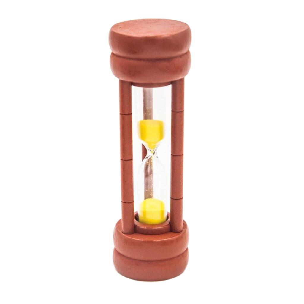 На возраст 1 2 3 5 мин круглые деревянные песочные часы для малыша чтения игры в мяч