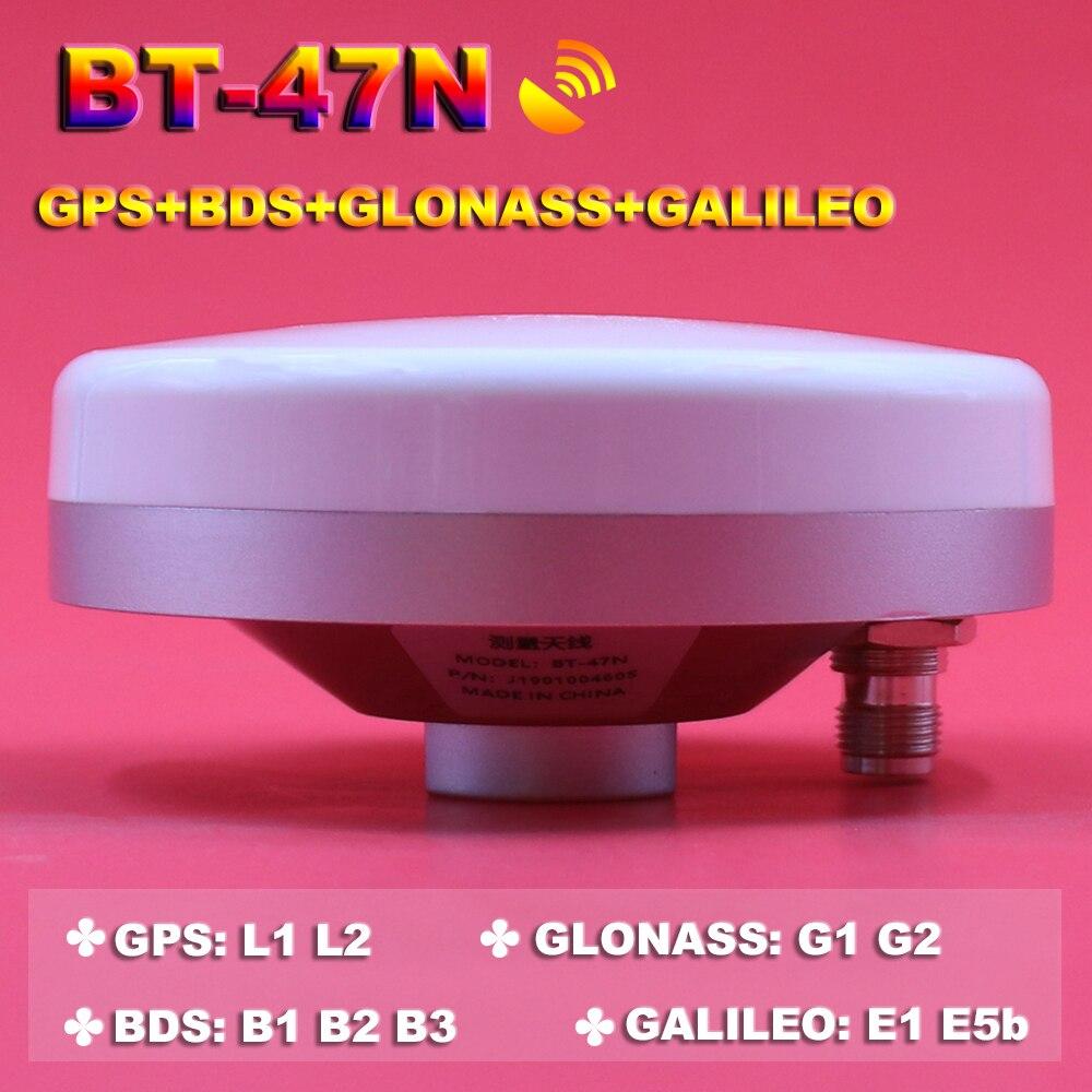 BEITIAN 3V-18V módulo receptor CORS RTK GNSS encuesta antena de alta precisión de alta ganancia GPS GLONASS BDS GALILEO TNC-K... BT-47N