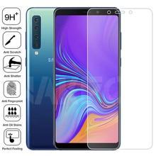 Vetro temperato 9H acceso per Samsung Galaxy A5 A7 A9 J2 J8 2018 pellicola protettiva per schermo A6 A8 J4 J6 Plus 2018 custodia protettiva in vetro