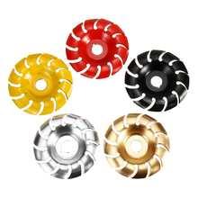 90mm 12 dents disque de sculpture sur bois 16mm alésage meuleuse façonnage disque pour 100 115 meuleuse dangle bois électrique meuleuse dangle
