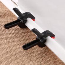 6 uds 2 pulgadas 48*68cm Clips de estudio fotográfico abrazaderas para fondo de fotografía soporte de atril con clip Equipo de Estudio fotográfico