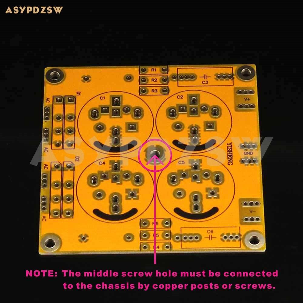 Paso AM Clase A Amplificador CDN Filtro de rectificación daul fuente de alimentación PCB desnudo