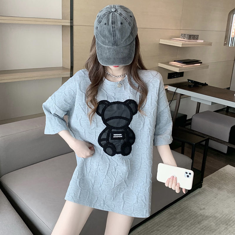EasyGarment Summer Short Sleeve Cool Thin T-shirt Cute Korean Japan Style Lovely Women Tee Casual Ho