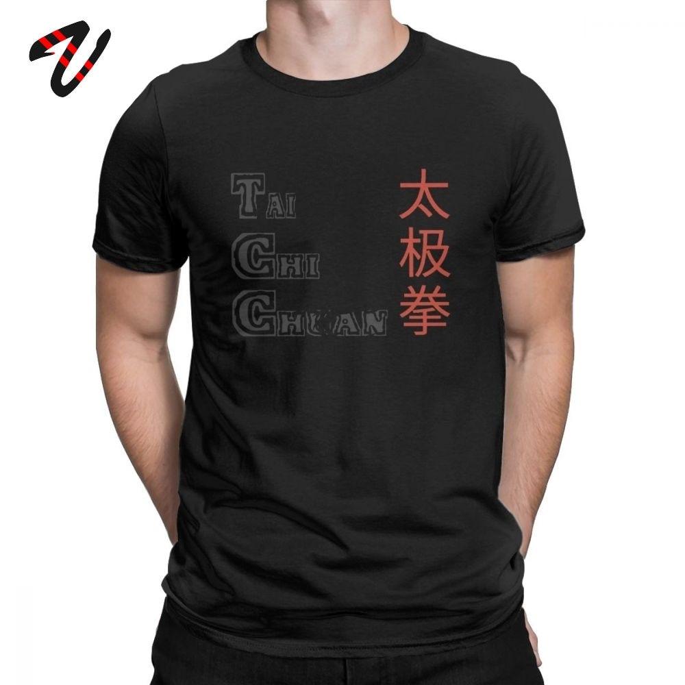 Camiseta de Tai Chi Chuan para hombre, novedosa Camiseta de algodón con cuello redondo, camiseta de manga corta, el mejor regalo, camiseta de estilo chino