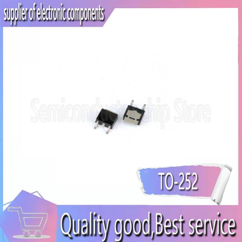 50 Uds nuevo original SiHFR420-252 N 500V 2.4A MOS FET ranura
