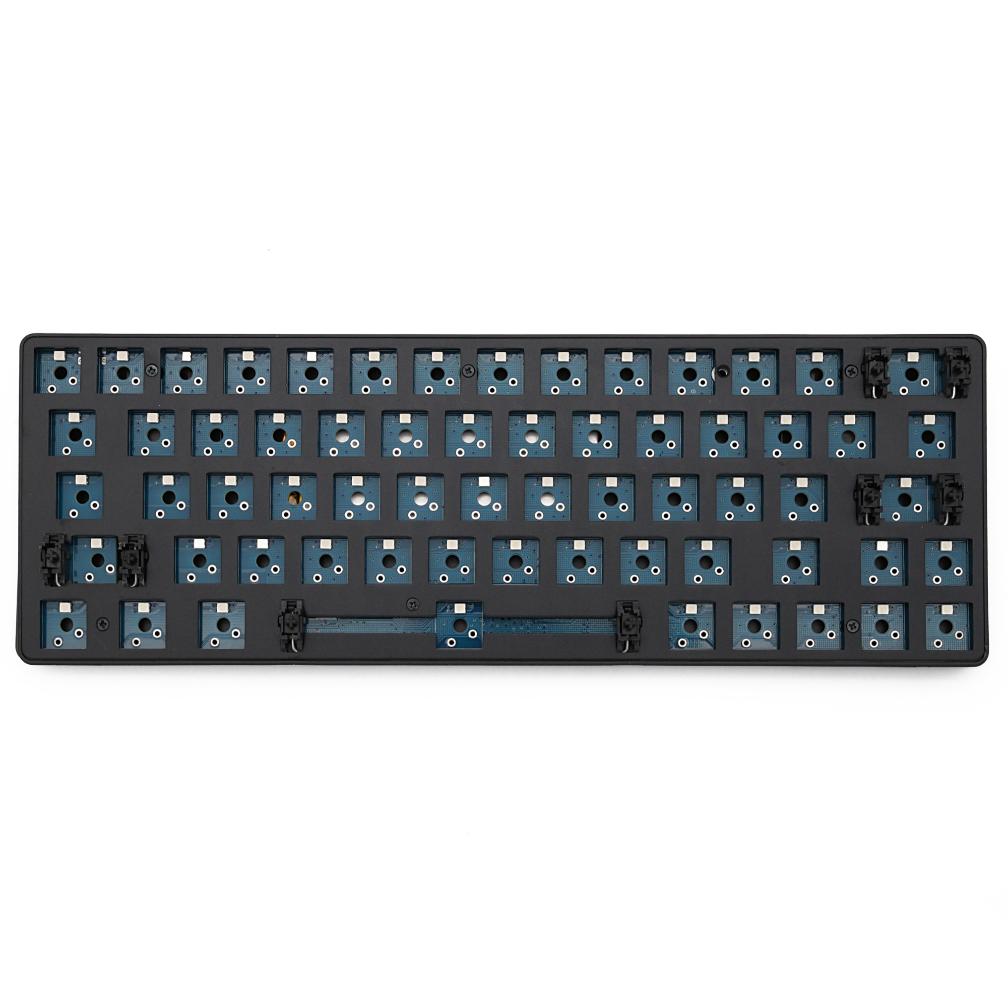 Dierya 63 60% bluetooth 63 kit dual mode wireless pcb Custom Mechanical Keyboard rgb smd switch leds type c and mini cable