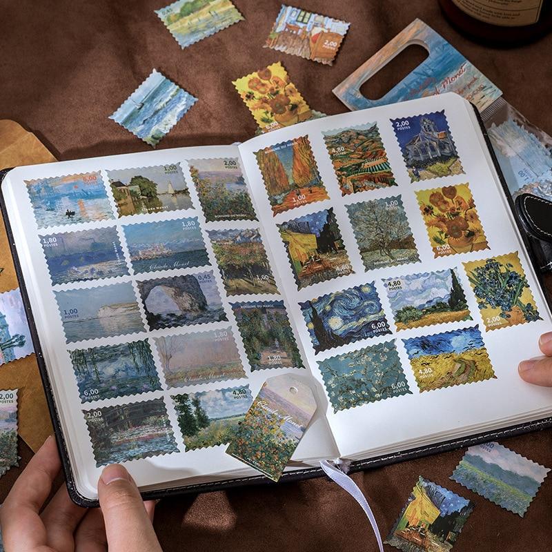 60-uds-vintage-estrellada-de-van-gogh-pegatina-con-motivo-de-cielo-decoracion-diy-scrapbooking-etiqueta-papeleria-retro-planta-sellos-diario-etiqueta-engomada-de-la-etiqueta