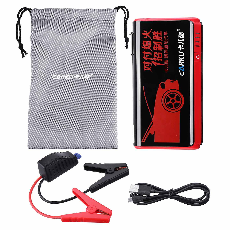 Arrancador de salto multifuncional 9000mAh 12V 500A cargador de batería de coche portátil Booster banco de energía linterna de dispositivo de arranque