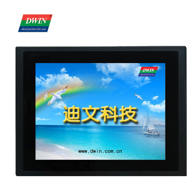 DWIN TFT LCD Display 8 Inch HMI Touch Screen 800*600 Resolution UART Serial