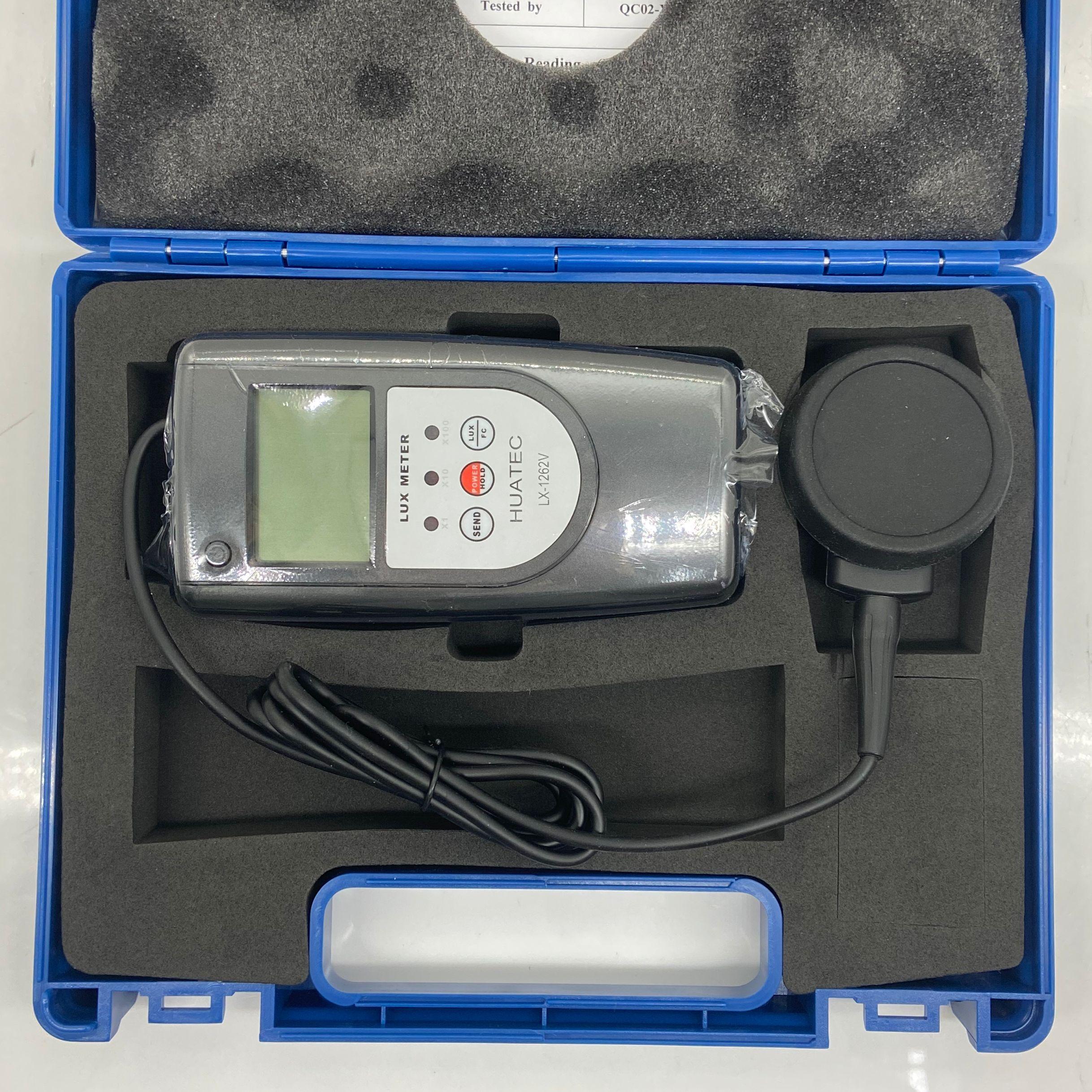 LX-1262V Digital display Lux Meter with separate probe enlarge