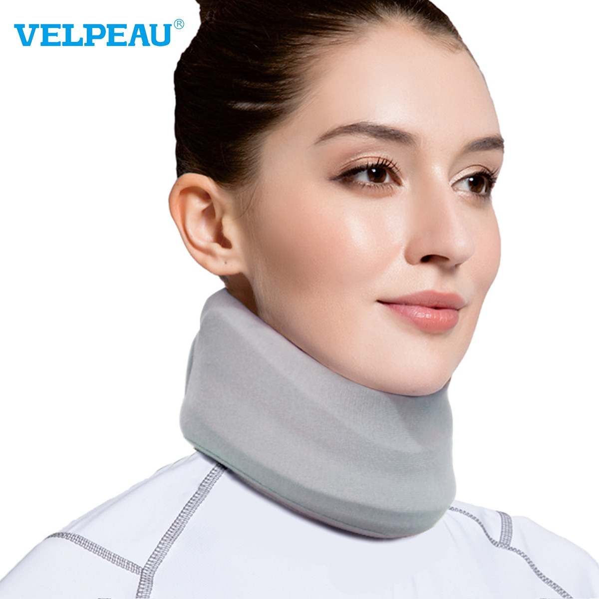 VELPEAU Neck Brace for Neck Pain and Support Soft Cervical Collar for Sleeping Cervical Decompressio