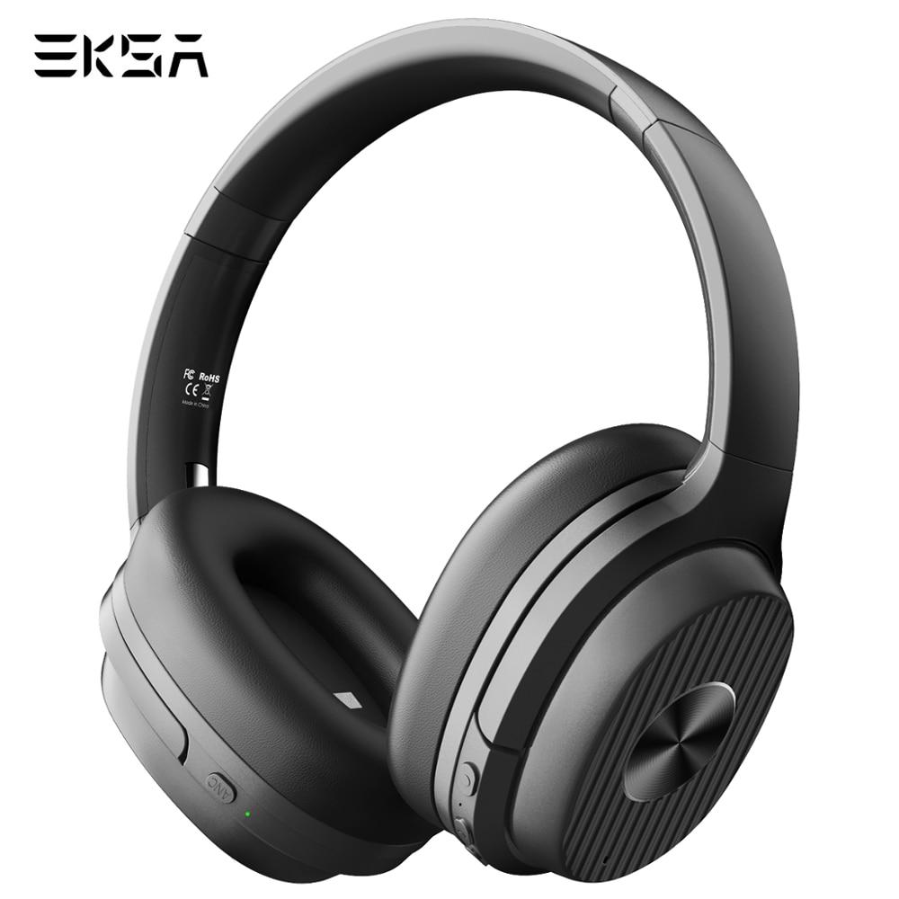 EKSA E5 Bluetooth 5,0 Kopfhörer Aktive Noise Cancelling kopfhörer 920mAH Wireless Headset Mit Mic Für Handys Faltbare Über-ohr