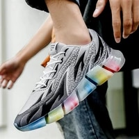 men running shoes breathable fashion casual mens sneaker outdoor walking shoes zapatillas hombre
