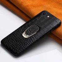 original leather phone case for iphone se 2 2020 13 pro max 12 mini 12 11 pro max x xs max xr magnetic kickstand luxury cover