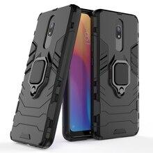 Tigenkey  For Xiaomi Redmi 8A Case Ring Holder Magnetic Phone Case For Xiaomi Redmi 8A Case