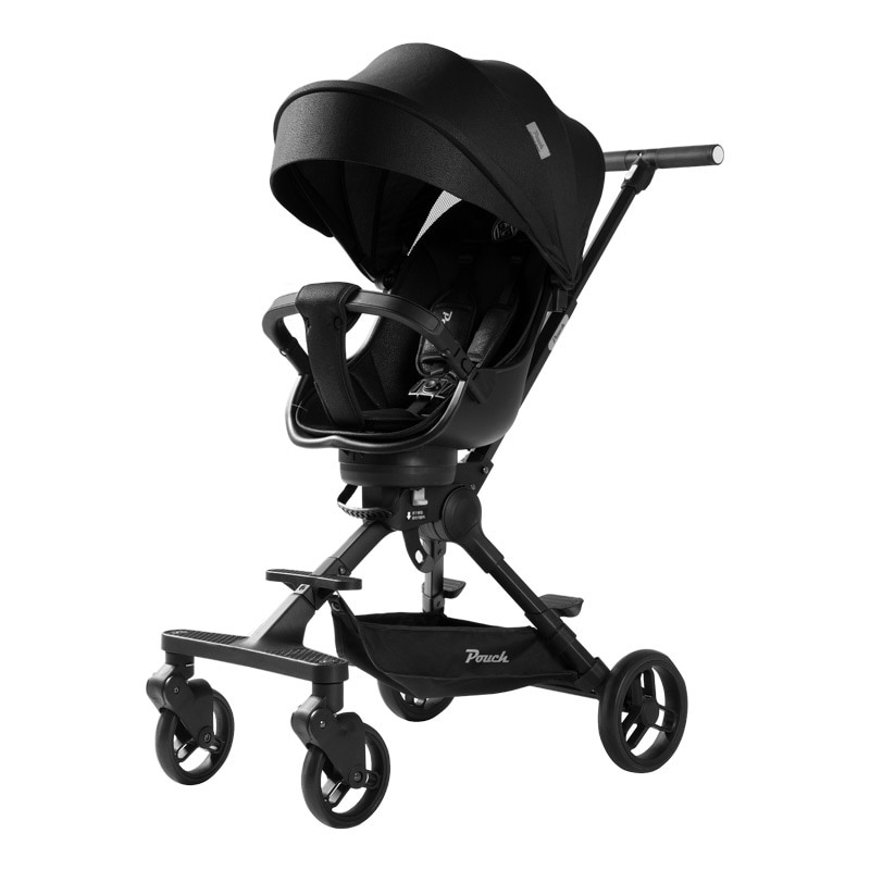 A03  Artifact Portable Folding Baby Stroller Full Canopy 360 Degrees Rotating Two-Way Pushing Walking Big Space enlarge