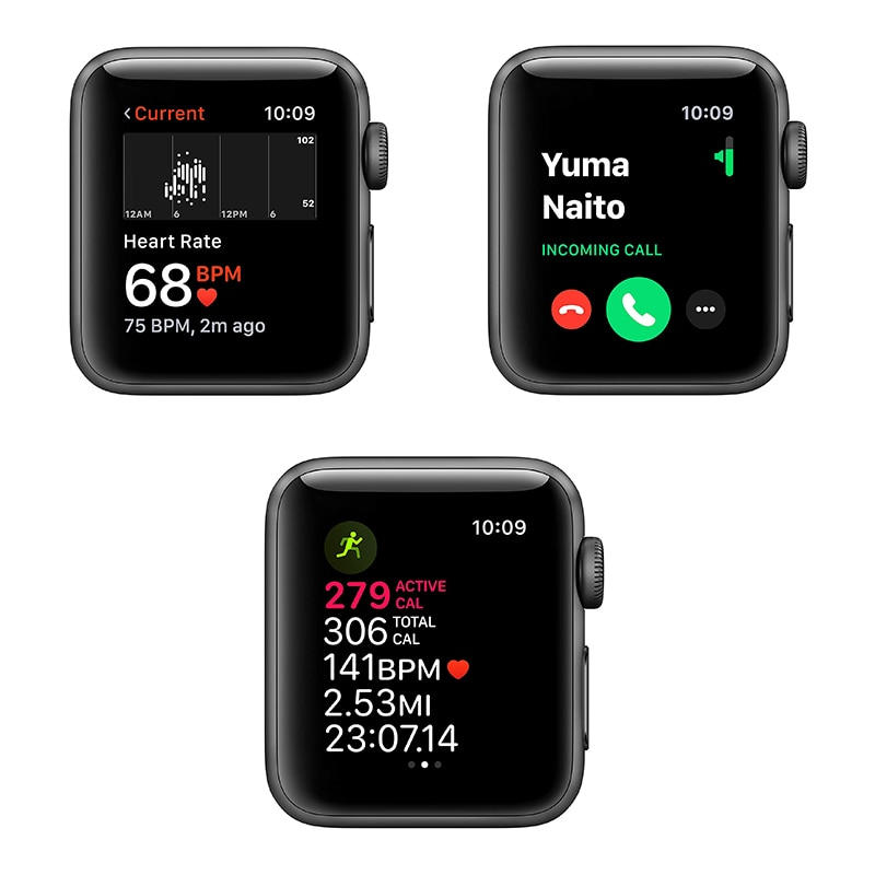 New Original Apple Watch Series 6 GPS Cellular 40MM/44MM Aluminum Case with 5 Colors  Sport Band  Smart watch