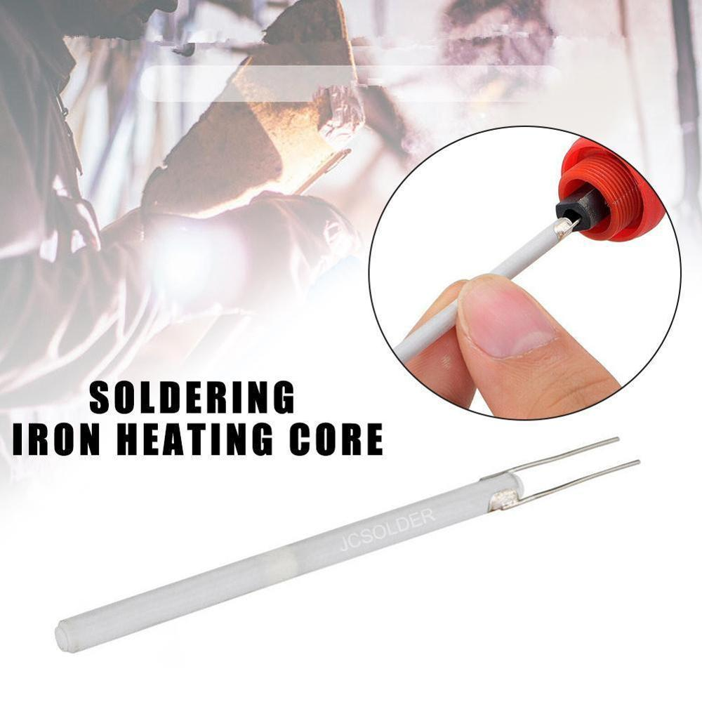 For 908 908S Solder Adjustable Temperature Electric Soldering Iron Heater 220V 110V 80W 60W Ceramic Internal Heating Element 1pc wit w808 1 1 screen 60w internal heating electronic soldering iron black silver 110v