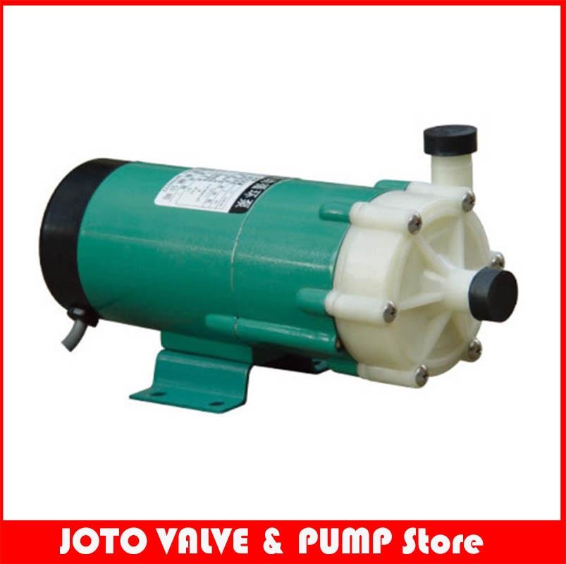 MP-20R صناعة مقاومة الأحماض المغناطيسي محرك مضخة مياه الطرد المركزي