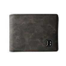 1PC ใหม่ล่าสุดผู้ชายกระเป๋าสตางค์เงินเล็กๆกระเป๋าสตางค์ออกแบบใหม่ Dollar ราคาผู้ชายบางกระเป๋า...