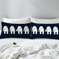 50x70cm cute cartoon pattern pillow case animal cat giraffe elephant decorative pillowcase pillow case for car