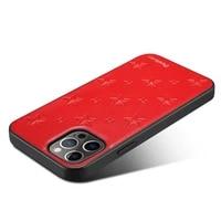 luxury pu genuine leather phone case for iphone 12 mini 12 pro max 2020 12 pro anti slip shockproof cover case shell funda