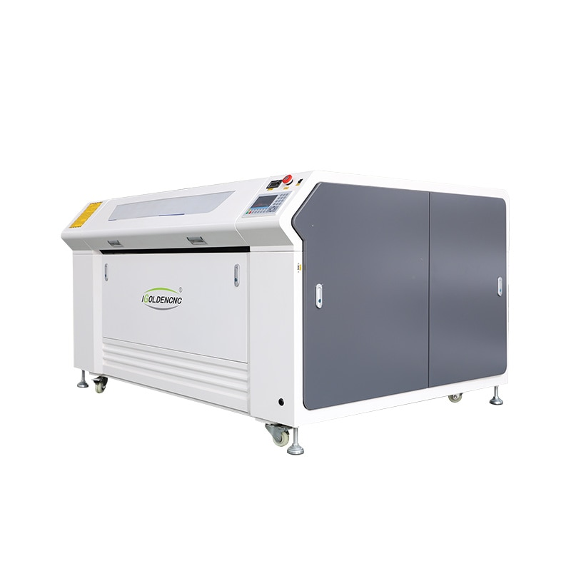 Co2 ماكينة تقطيع ليزر cnc آلة ثلاثية الأبعاد ماكينة الحفر بالليزر 100 واط الليزر القاطع خشب ليفي متوسط الكثافة الاكريليك ورقة الخشب المعادن