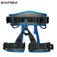 xinda camping safety belt rock climbing outdoor expand training body half harness protective supplies survival equipment
