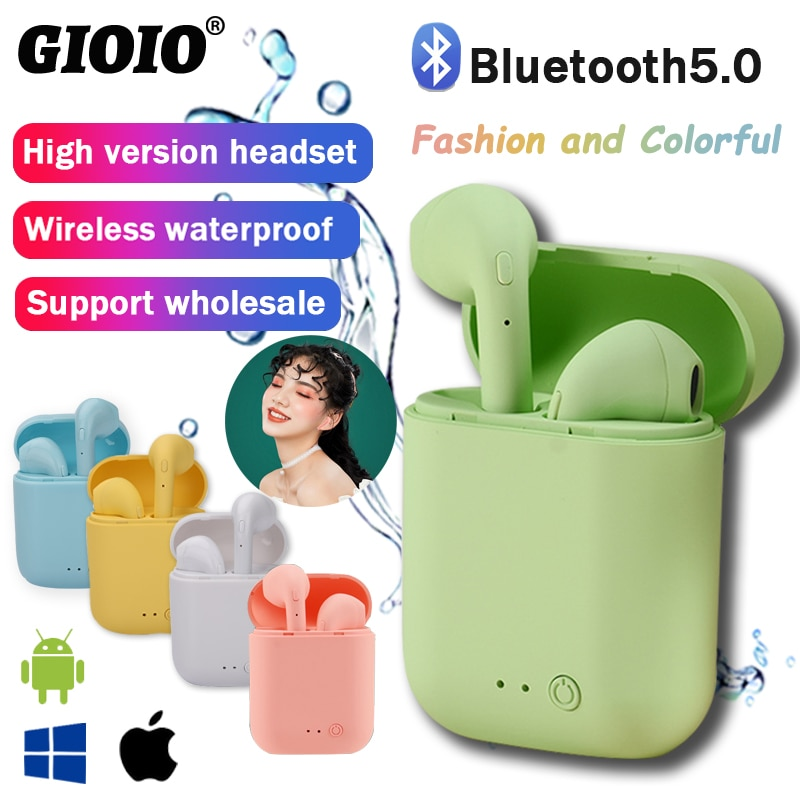 Mini-2 Wireless Headphone Bluetooth Earphones Waterproof Earpieces Sport Earbuds For Huawei Iphone OPPO Xiaomi TWS Music Headset