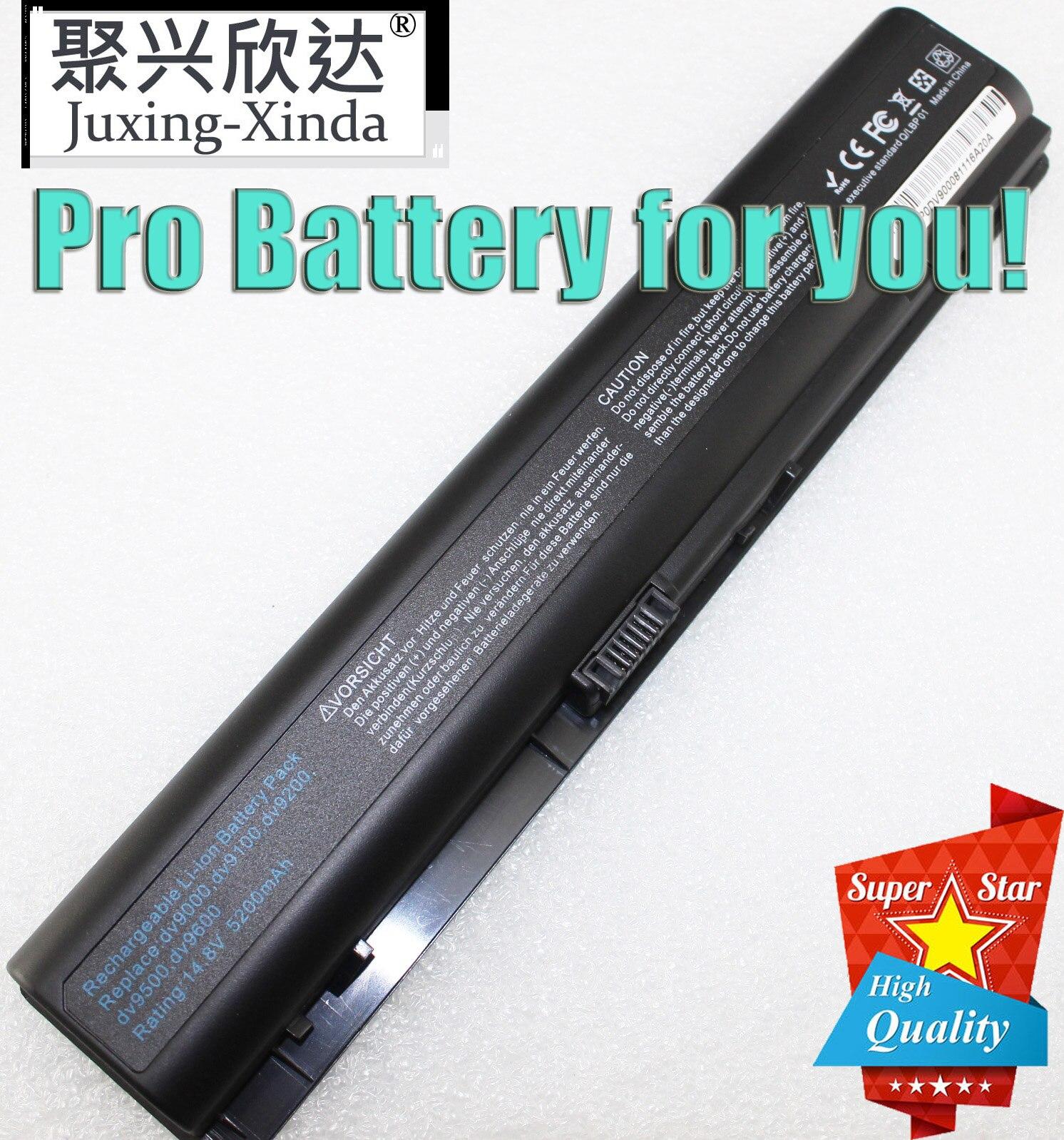 Batería de ordenador portátil para HP pabellón dv9000 dv9100 dv9200 dv9300 dv9400 dv9500 dv9600 dv9700 dv9800 dv9900