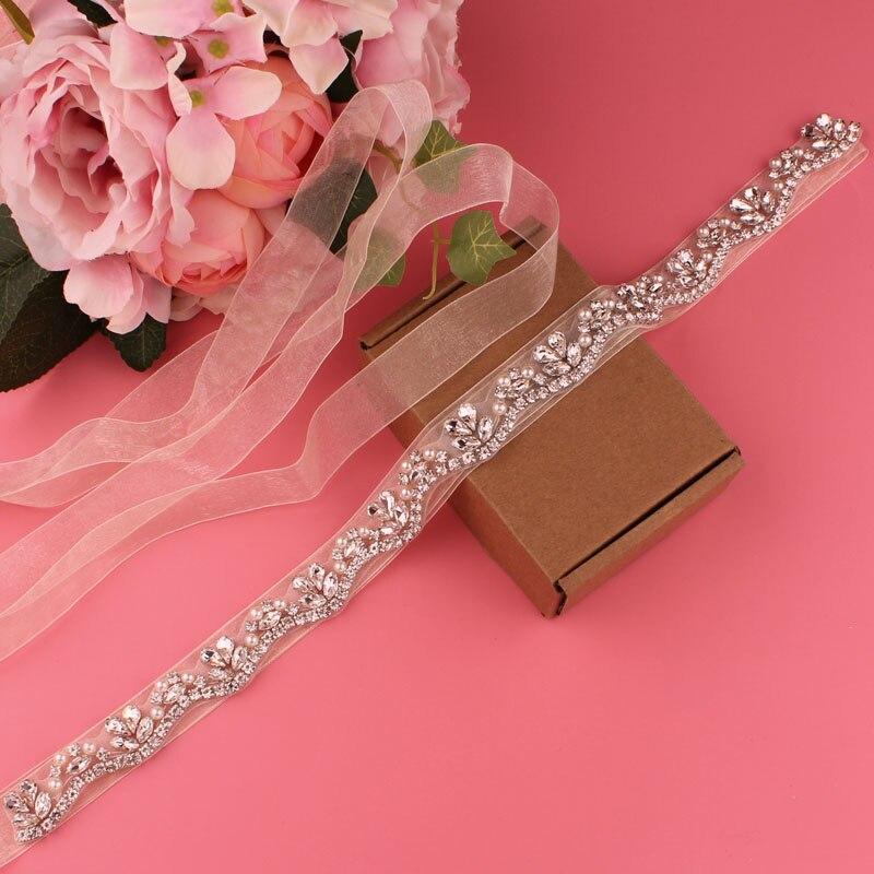 Bridal belt wedding dress belt crystal rhinestone belt evening dress belt wedding accessories