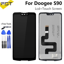 6.18''For Doogee S90 Pro S90C LCD Display+Touch Screen Digitizer Assembly For Doogee S90 Mobile Phon