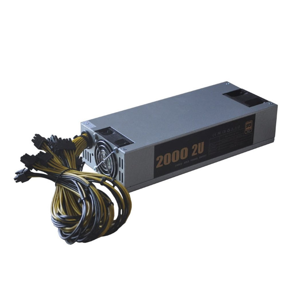 Mining Machine Power Power Supply Anti-Electromagnetic Interference Mining Power Supply 2400W Single 10P6 Power Supply enlarge