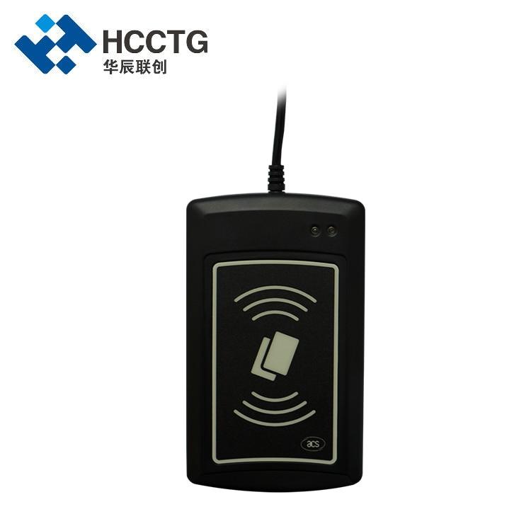 USB تماس HID Uid التحكم في الوصول قارئ بطاقات ذكية للكمبيوتر (ACR1281U-C2)