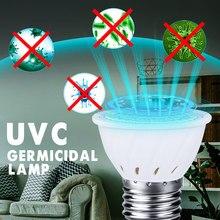 Lampe germicide UV E27, désinfection du maïs, stérilisation à lumière UVC, économie d'énergie, Portable pour la famille, 110v /220v