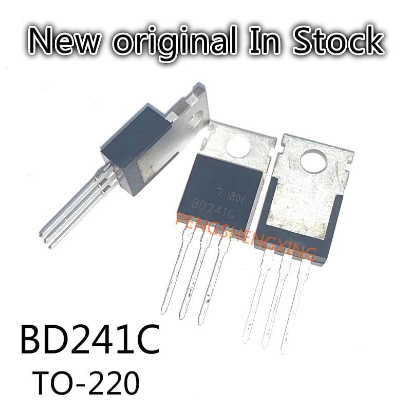 10PCS/LOT  BD241C BD241  TO-220  New original spot hot sale