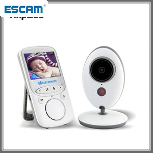VB605 2.4 inch Wireless Baby Monitor Electronic Baby Video 2 Way Audio Nanny Camera Night Vision Temperature Monitor New ESCAM