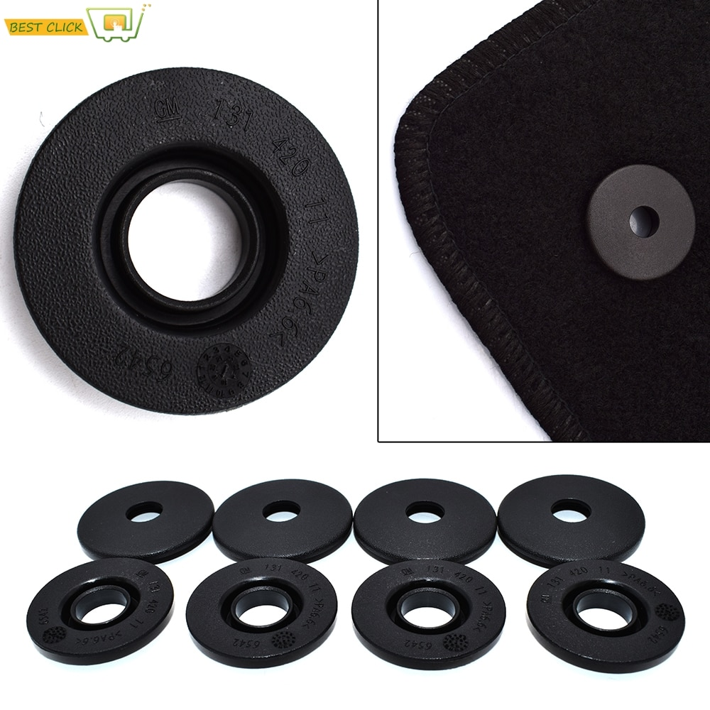 Auto Fastener Floor Mat Clips Fixing Buckles Holders For GM Opel Chevrolet Vauxhall Holden Skid Resistant Carpet Fixing Clamps