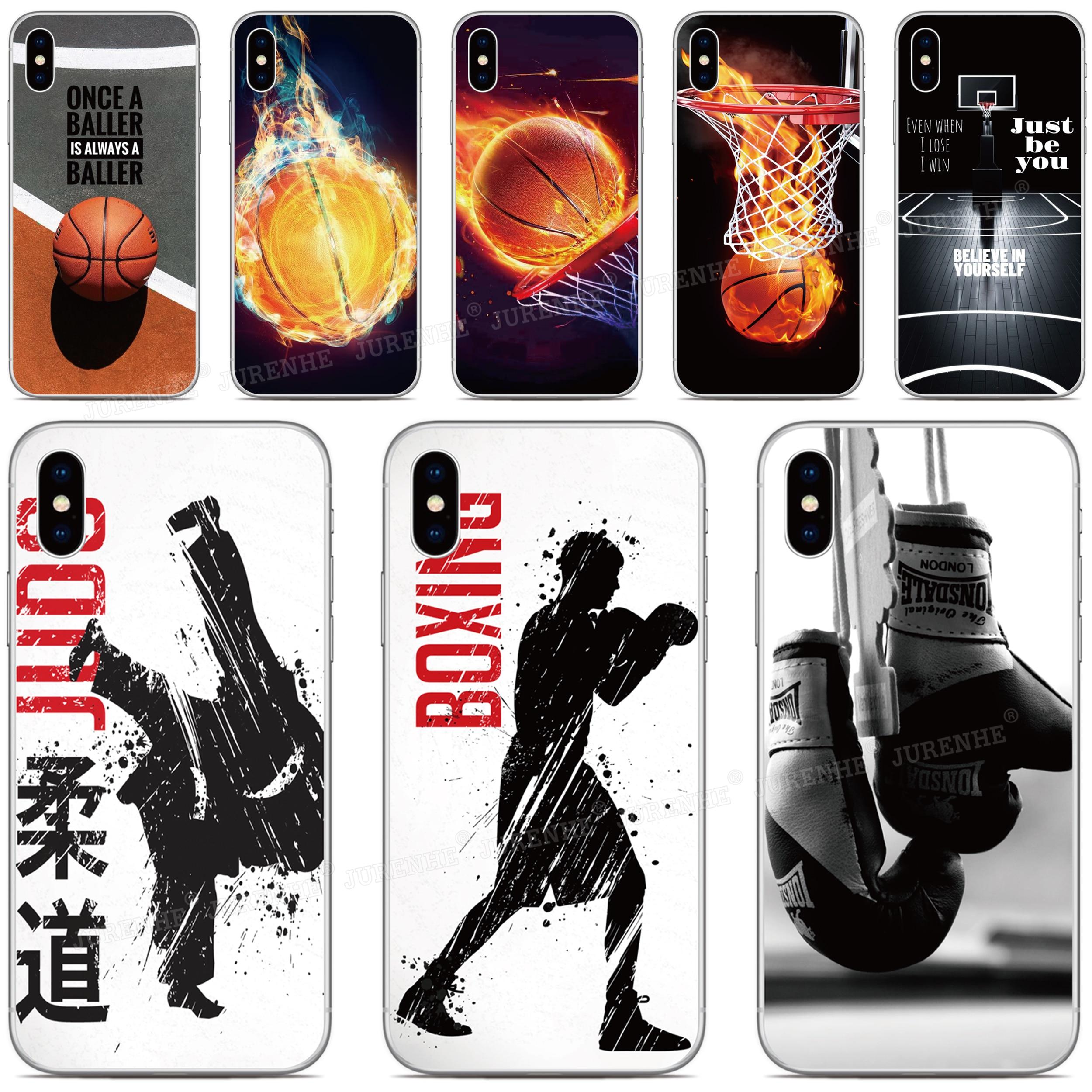 Basquete Esporte de Silicone macio Capa Para Doogee X90 X95 N20 Y9 Plus N10 Y7 Y8 Y8C X70 X60 X60L X50 X50L X30 2 X55 Mix Caso de Telefone